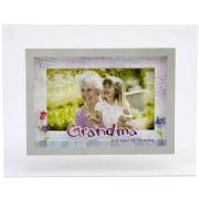 Glass Grandma Photo Frame